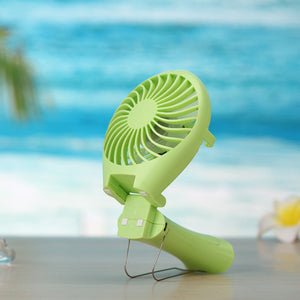 Rechargeable Li Battery Mini Fan