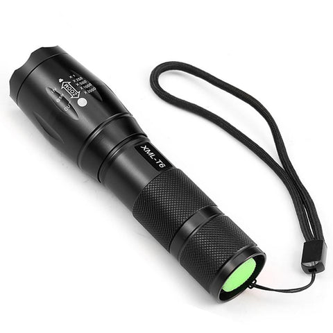 ZK56 4000LM 5 Mode Zoomable LED Flashlight