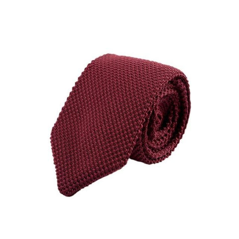 Men's Colorful Knitted Tie