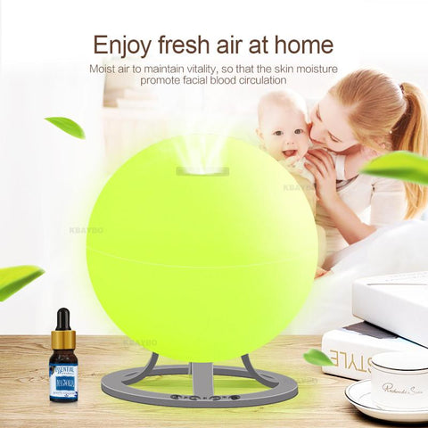 Essential Oil Aroma Diffuser - Ultrasonic Air Humidifier