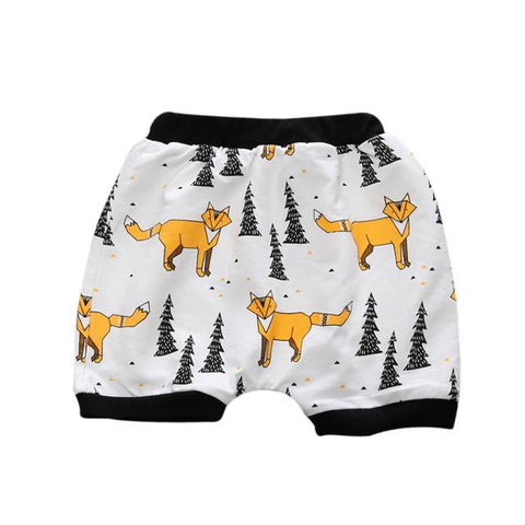 Baby Boy Printed Shorts