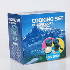 Portable 15 Piece Outdoor Cookware