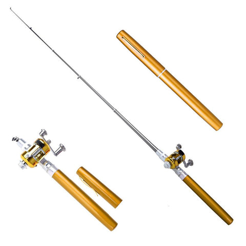 "Image of 38inch Portable Pocket ""Ultra Light"" Fishing Rod"