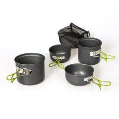 1 Set Outdoor Cookware for Camping, Hiking, Backpacking