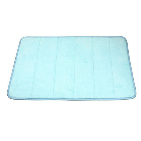 Image of High Quality Memory Foam Bath Mat -  Absorbent - Non-Slip