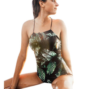 Backless One-piece Swimsuit