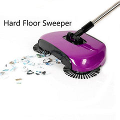 Stainless Steel Sweeping Floor Machine - Push Type Magic Broom