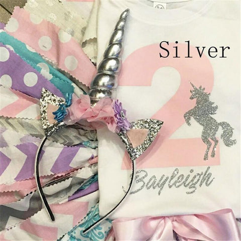 Glittery Unicorn Headband