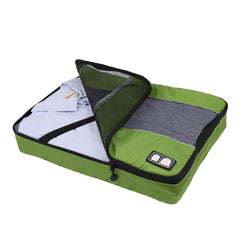 Travel Packing Folder - Travel Accessory to Avoid Wrinkled Clothing - Green
