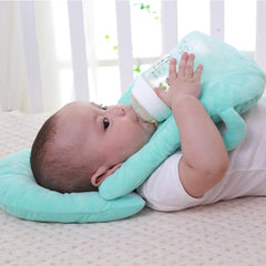Baby Pillow for Nursing Breastfeeding With a Layered Washable Cover