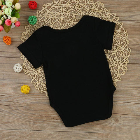"Image of Baby ""Loves Grandma"" Cotton Romper"