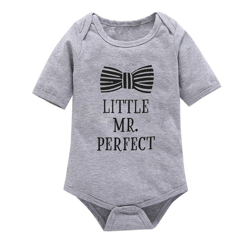 Baby Boy Short Sleeve Piece Romper