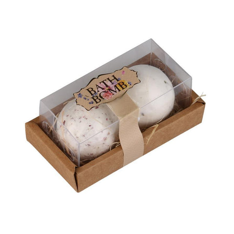 Bathroom Bath Balls - Natural Sea Salt - Lavender