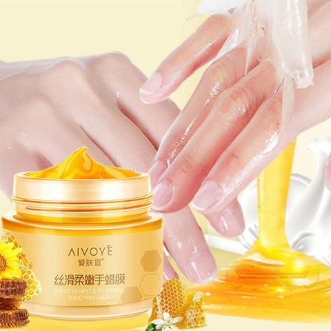Milk Honey Paraffin Wax - Hand Mask - Hand Care Moisturizing