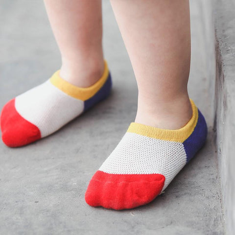 3 Pairs Cute Cotton Mesh Baby Socks