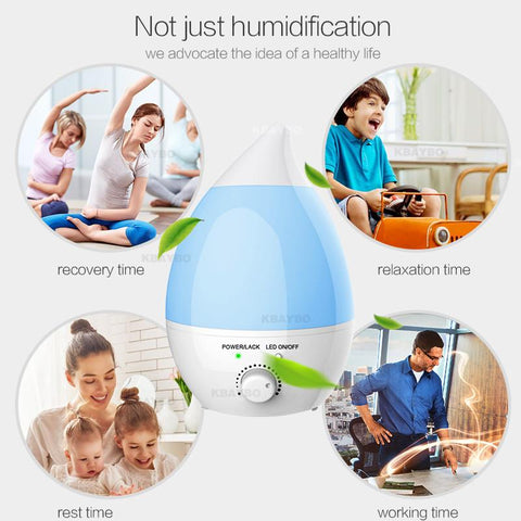 1.3L Humidifier and Aroma Oil Diffuser