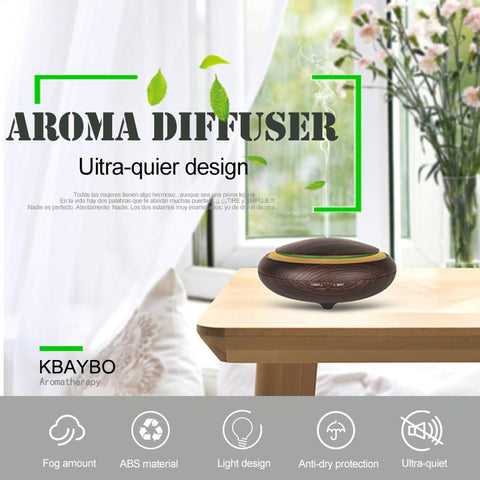 Mini Aroma Diffuser - Ultrasonic Humidifier Air Purifier Mist Maker