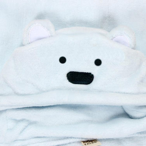 Baby Soft Animal Hood Shape Bath Towel Blanket