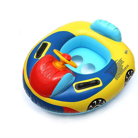 Inflatable Baby Seat Swimming Pool Float Aid