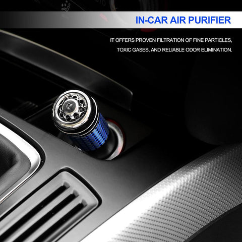 Mini Car Air Purifier - Air Cleaner Ionizer