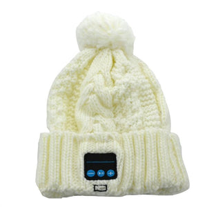 Knitted Bluetooth Beanie - Magic Hands-free Hat - Music - mp3 - Smartphone