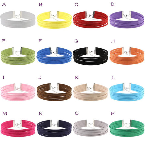 Six-layer Retro Velvet Choker Necklace