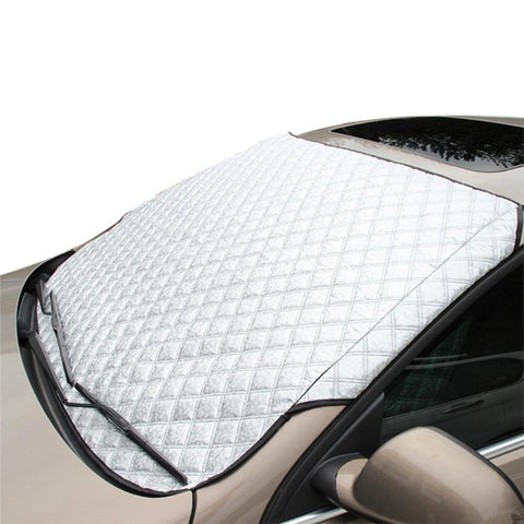 Hatchback and Sedan Universal Car Windshield - All Weather Snow & Sun Protection