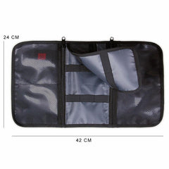 2-in-1 Travel USB Cable Organizer Storage Bag
