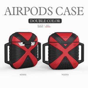 Soft Silicone Shock Proof Protective Cover Case For Apple AirPod Earphones