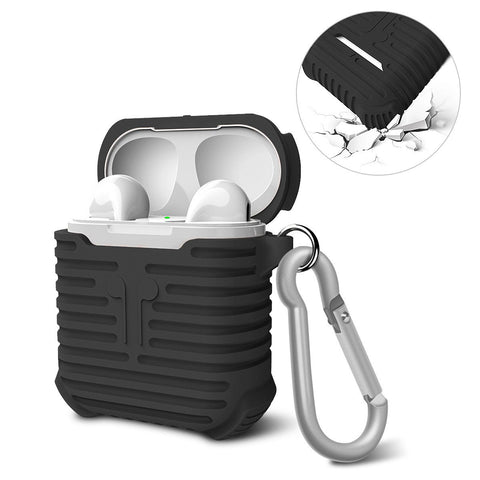 Soft Silicone Shock Proof Protective Case For Apple AirPods Earphones