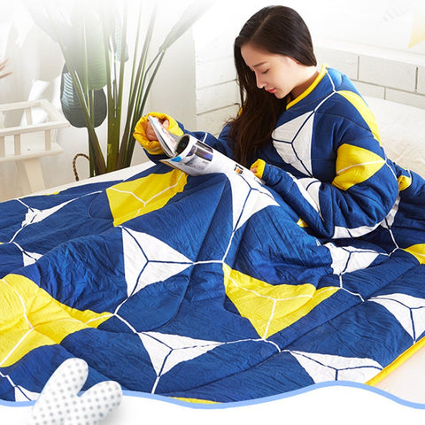 New Creative Winter Warm Blanket With Sleeves
