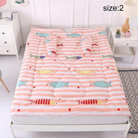 Lazy Quilt 47 x 59 inch Washable Warm Thick Comforter - with Sleeves