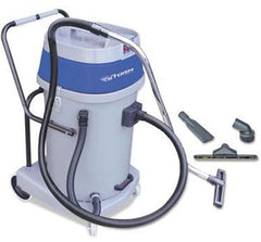 Mercury Floor Machines Mercury Storm Wet/Dry Tank Vacuum, Dual Motor, 20 Gallon Poly Tank, Gray - Allrate Shopping