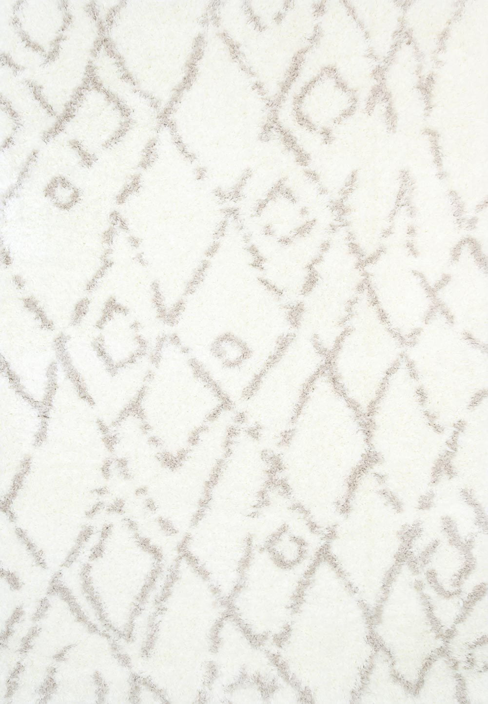 super soft shag Cream Beige Rug
