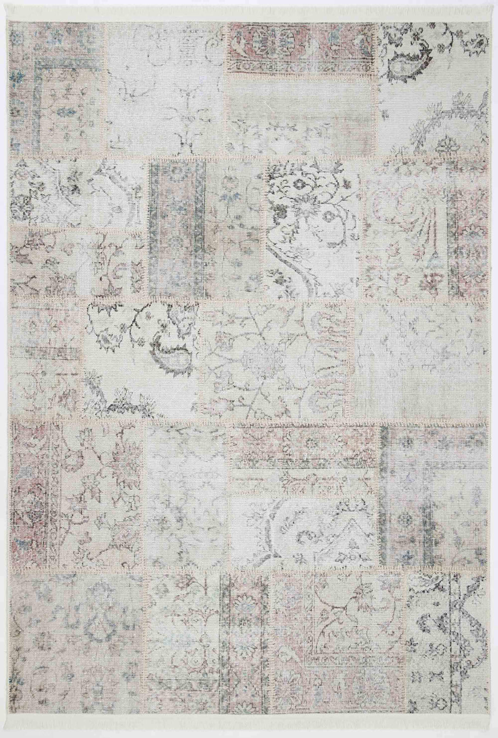 VintageTop Prime Patch Cream Rug