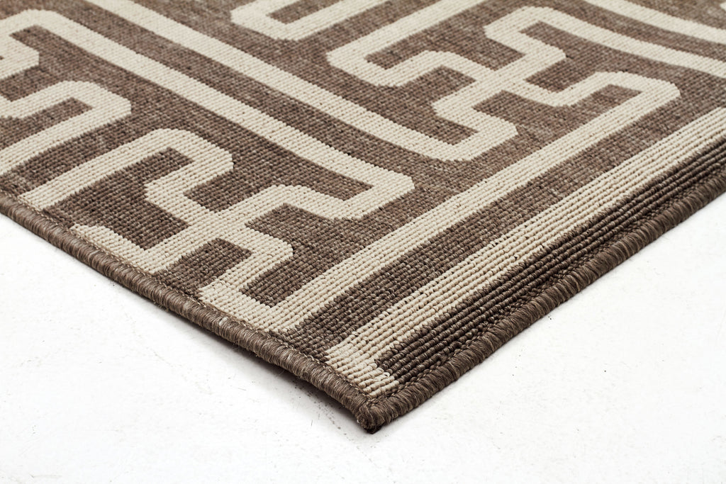 Seville Geo Natural Oudoor Rug