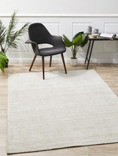 Cloud Ivory Cotton Rayon Rug