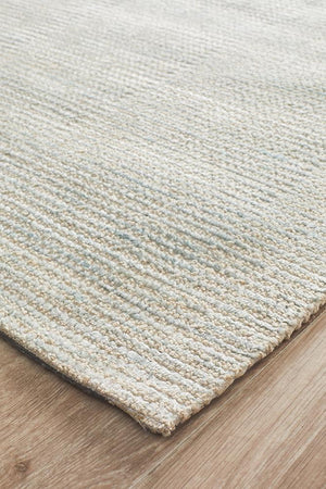 Cloud Sky Cotton Rayon Rug
