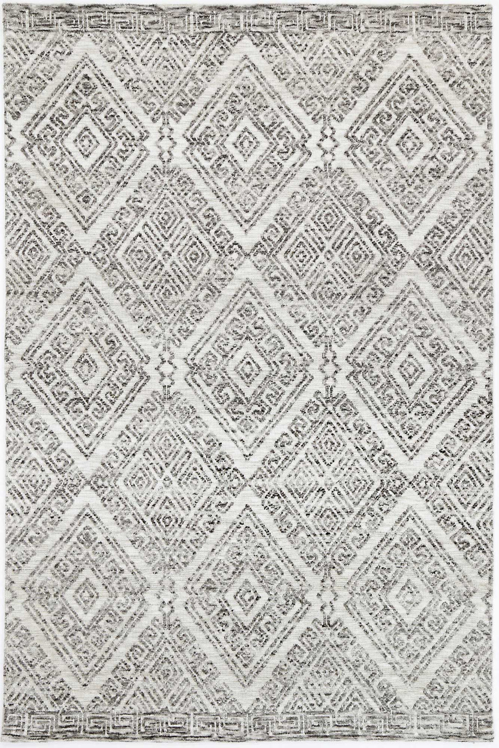 Alayah Diamond Grey Rug