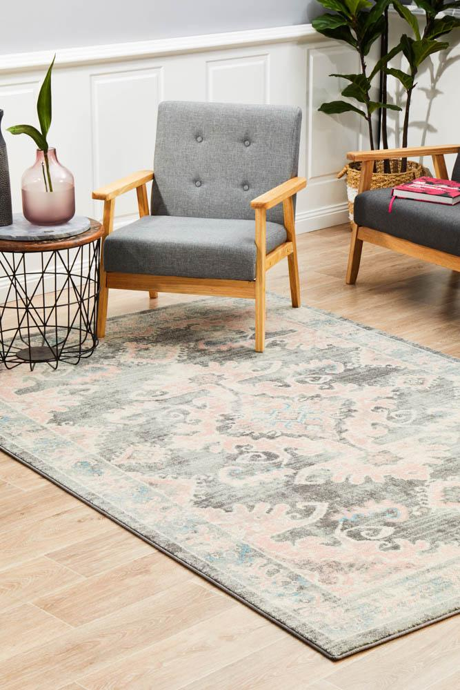 Avenue Admission Grey Rug