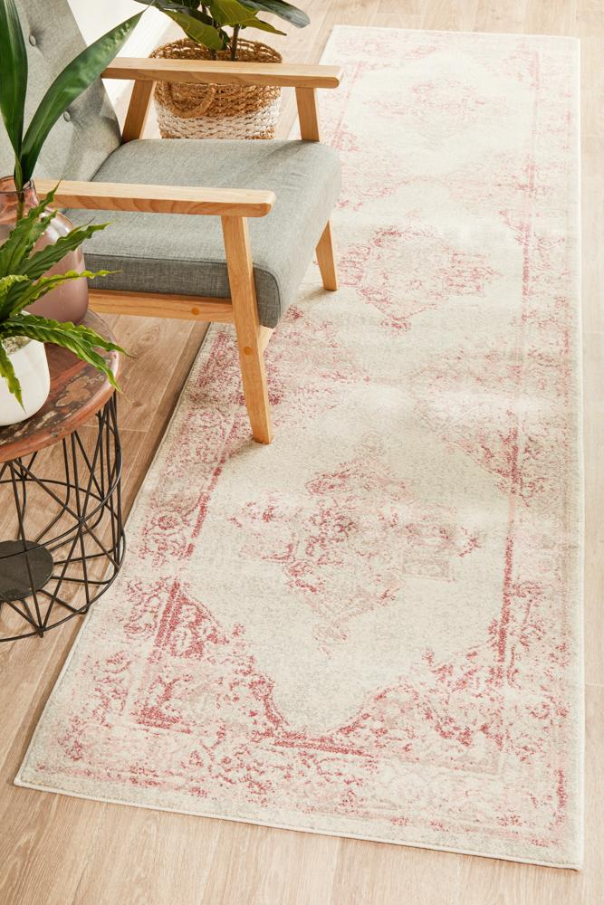 Avenue Passage Rose Runner Rug