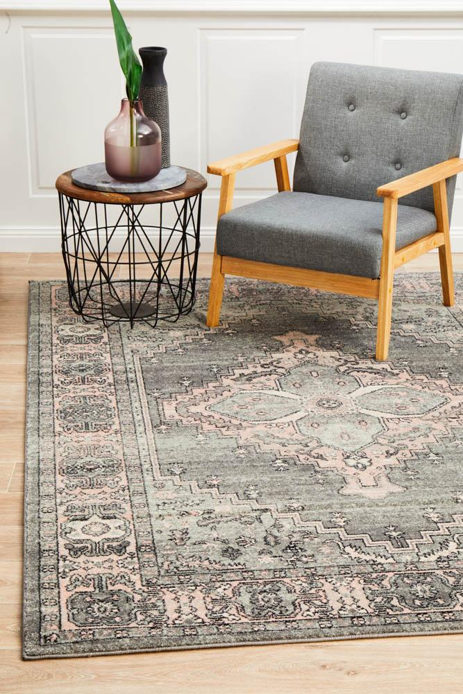 Avenue Admittance Grey Rug