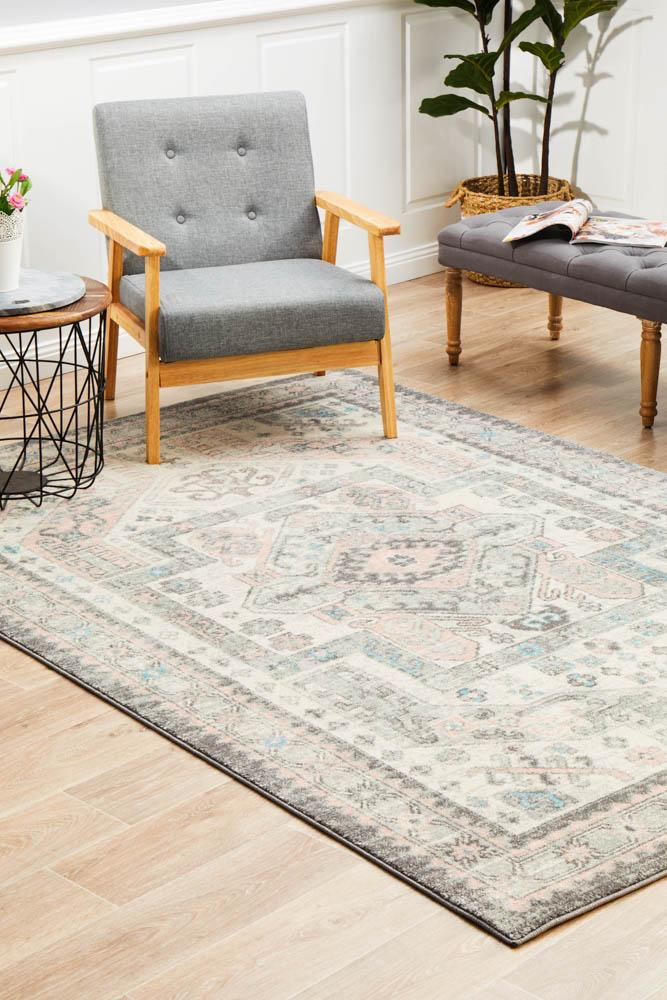 Avenue Ingress Silver Rug