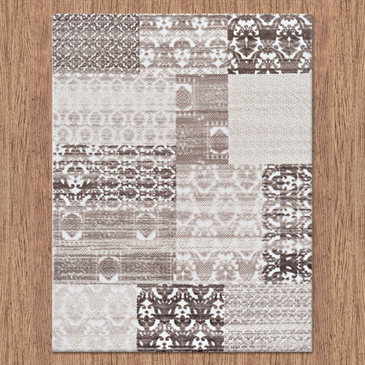 Fleet Naval Brown Rug