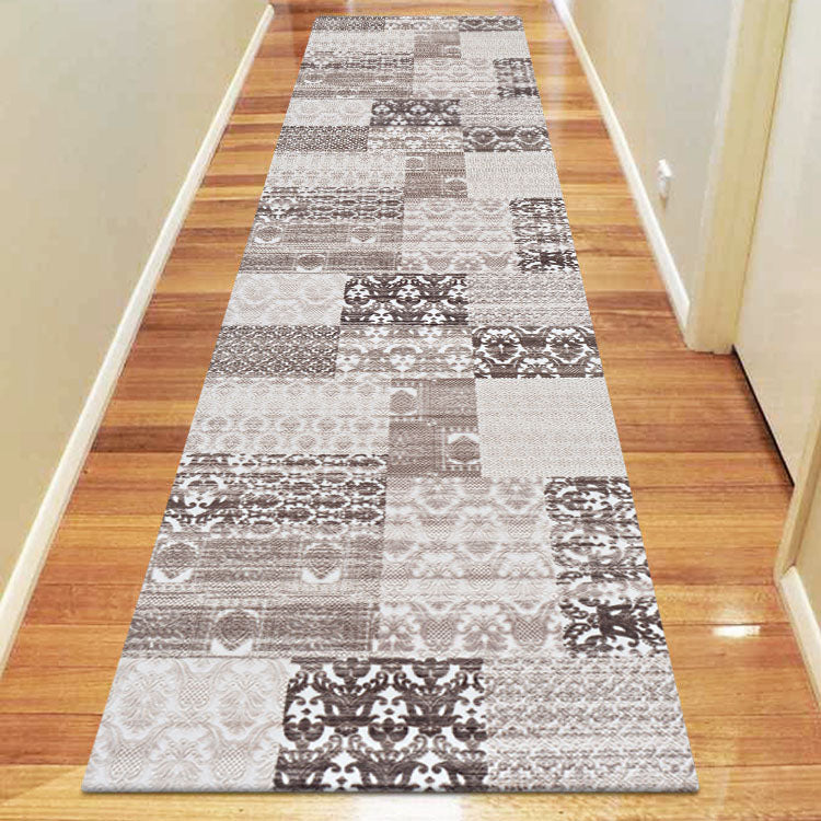 Fleet Naval Brown Runner Rug