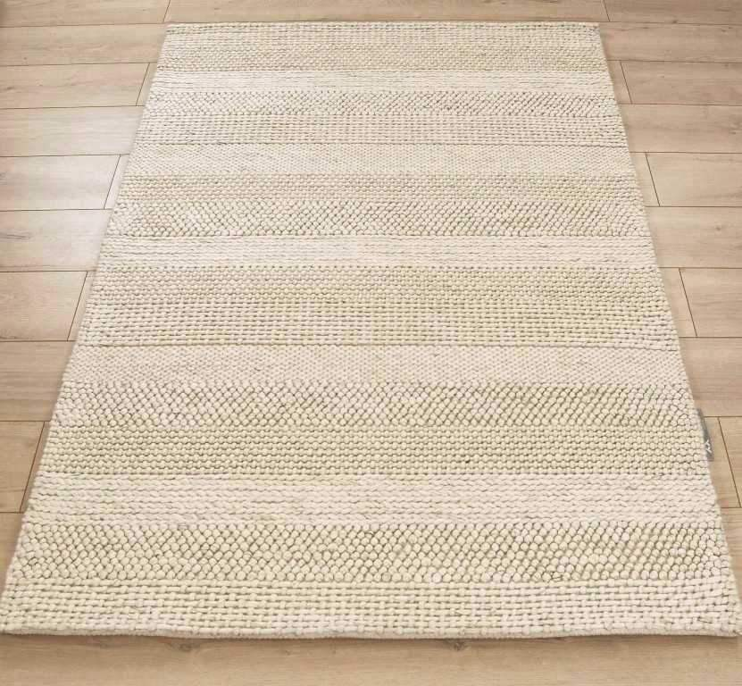 Alpha Arunirow Cream Stripe Rug