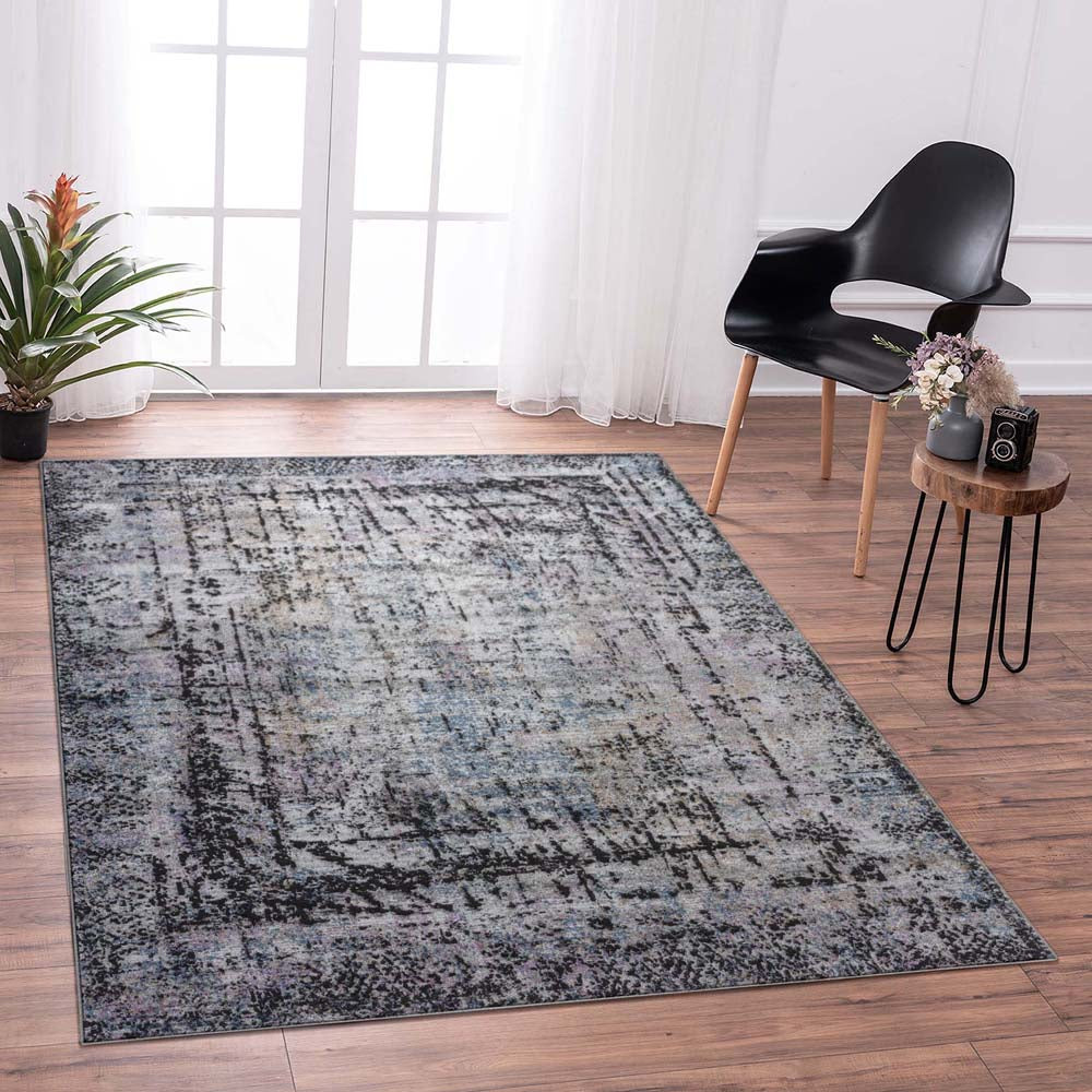 Achromatic Jungle Multi Rug