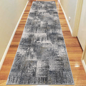 Brave Gallant Slate Runner Rug