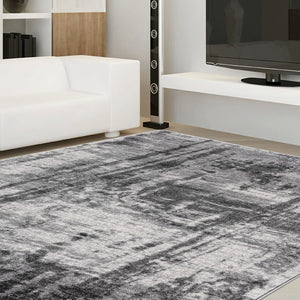 Brave Endure Grey Runner Rug