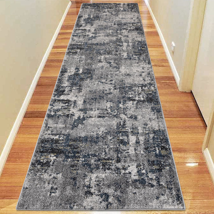 Brave Bear Grey Runner Rug